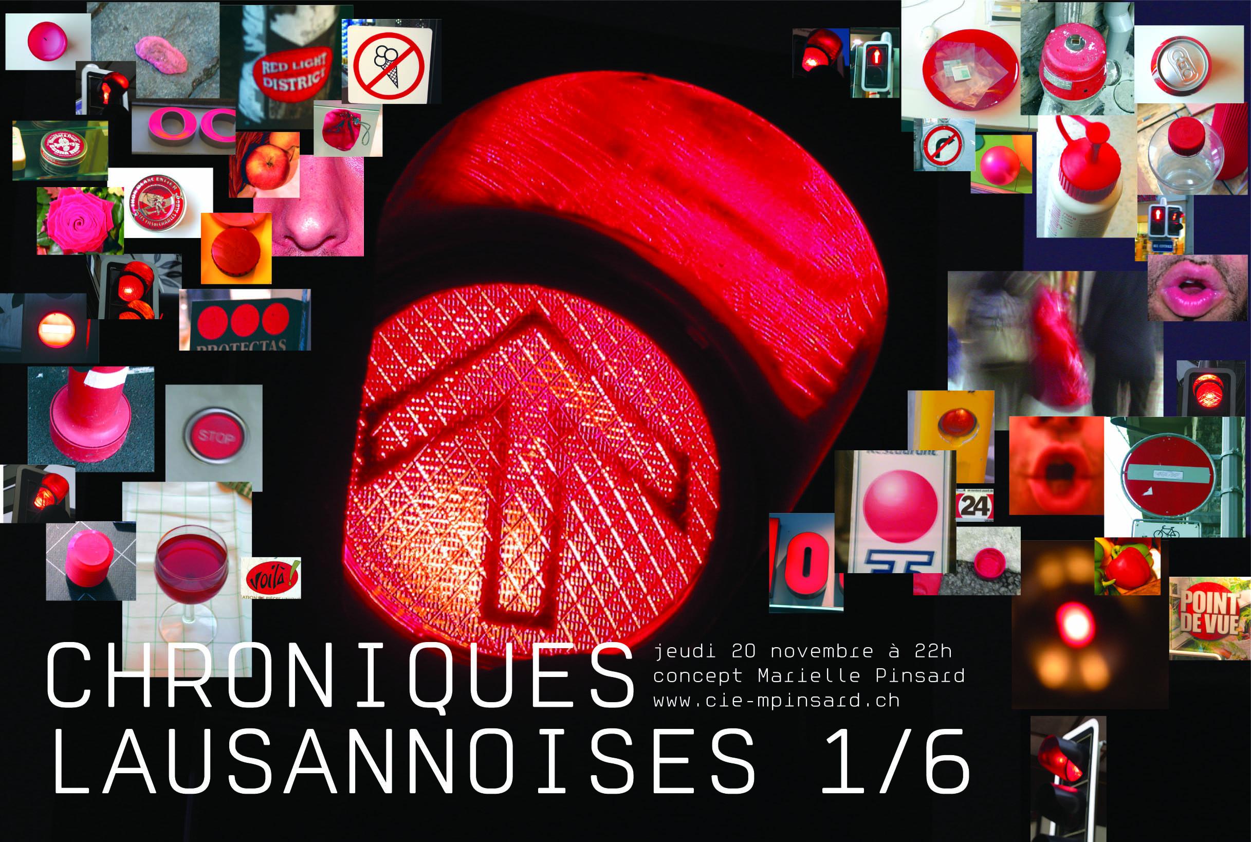 Chroniques Lausannoises Ou Quelque(s) Oreilles à Pinsard
